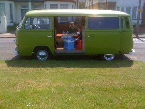 vw camper van for sale web design Kent