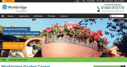 St Andrews Healthcare website design